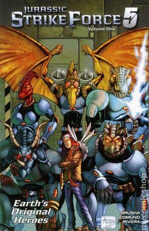 Jurassic Strike Force 5 (TPB) Vol 1 1.jpg