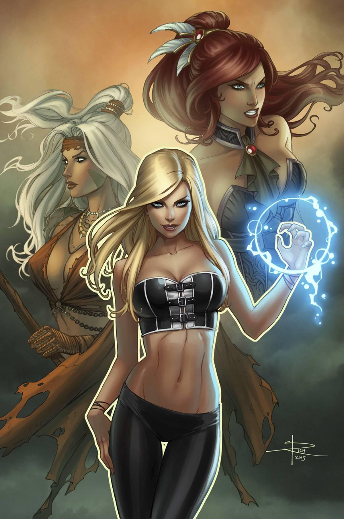 3C cover ~ Zenescope Grimm Fairy Tales Presents Coven #3