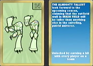 Nicktoons MLB Tallest Card