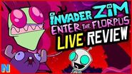 'Invader Zim Enter the Florpus' Review + Discussion Nerdflix + Chill Live