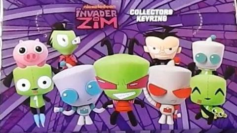 Invader Zim 3D Foam Blind Bag Collection