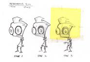 Ten Minutes Till Doom Concept Art - Deteriorating ZIM