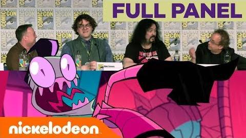 'Invader Zim Enter the Florpus' FULL Panel Comic-Con 2018 Nick