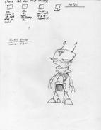 Concept Art - Irken Elite 001