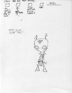 Concept Art - Irken Elite 003