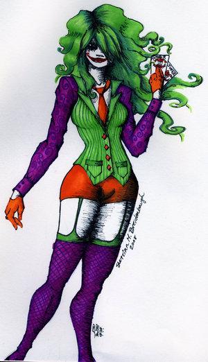 Джокер/Марта Уэйн