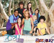 Zoey 101 Season 2 auto x2