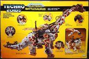 Techno Zoids Battlesaurus box back