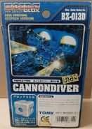 Cannondiver deepsea box back