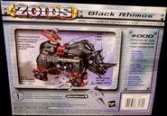 Black Rhimos hasbro box back