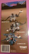 Brontozoids, stegozoids and cosmozoid box back