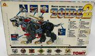 Zoids 2 Sabre box back