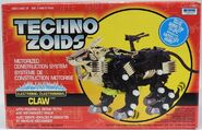 Techno zoids Claw box front