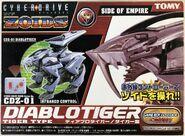 Diablotiger alpha box front