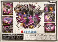 Bio Tyranno box back