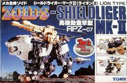 Shield Liger Mk-II toy dream box front