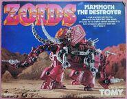 Mammoth destroyer front