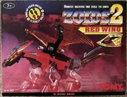 Zoids 2 Red Wing box front
