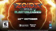 Zoids Wild Blast Unleashed Teaser Trailer