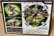 Bio Raptor Commander box back