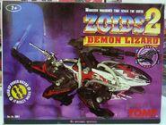 Zoids 2 Demon Lizard box front
