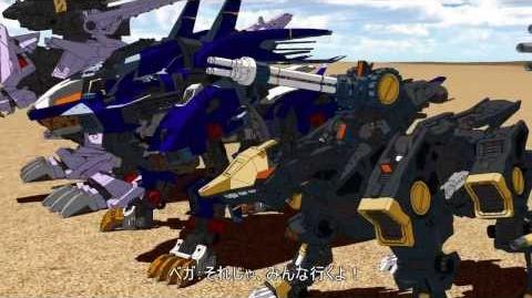 Sylvanelite/3DCG HMM ZOIDS PV2 - a fan-made CG video released for Christmas!
