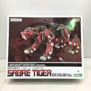 Sabre Tiger CA color Ver HMM box