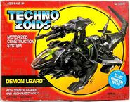Techno Zoids Demon Lizard box front