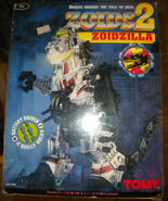 Zoids 2 Zoidszilla box front