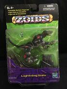 Lightning Saix action figure card front