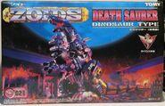 Death Saurer 1999 box front