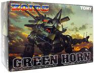 Green Horn box