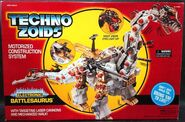 Techno Zoids Battlesaurus box front