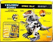 Techno Zoids Strike Zilla box back croped