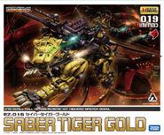 Saber Tiger gold HMM box