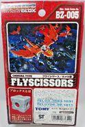 Fly Scissors box back