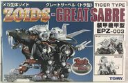 Great Sabre toy dream box front