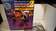 Zoids 2 Iron Kong box front
