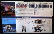 Shield Liger Mk-II toy dream box back