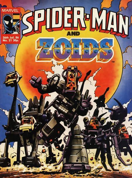 Zoids (comics)