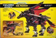 Techno Zoids Evil Pegasus box back