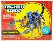 Techno Zoids Evil Scorpion box front