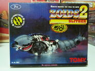 Zoids 2 Slither box front