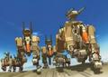 Desert command wolf anime