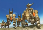 Desert command wolf anime