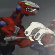 Rev raptor anime