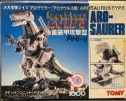 Arosaurer 1983 box front
