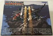 Shadow Arm Lizards box
