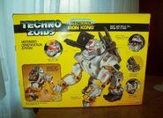 Techno Zoids Iron Kong box back