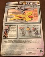 Sea Striker 2.0 action figure card back